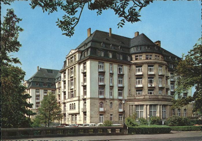 Pw02912 Bad Nauheim Grand Hotel Kat Bad Nauheim Postkarten