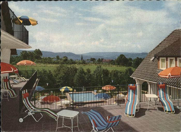 Pw22156 Bad Pyrmont Hotel Bergkurpark Kat. Bad Pyrmont