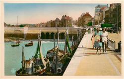 13176826 Le Treport Le Pont vers la Route de Dieppe Le Treport