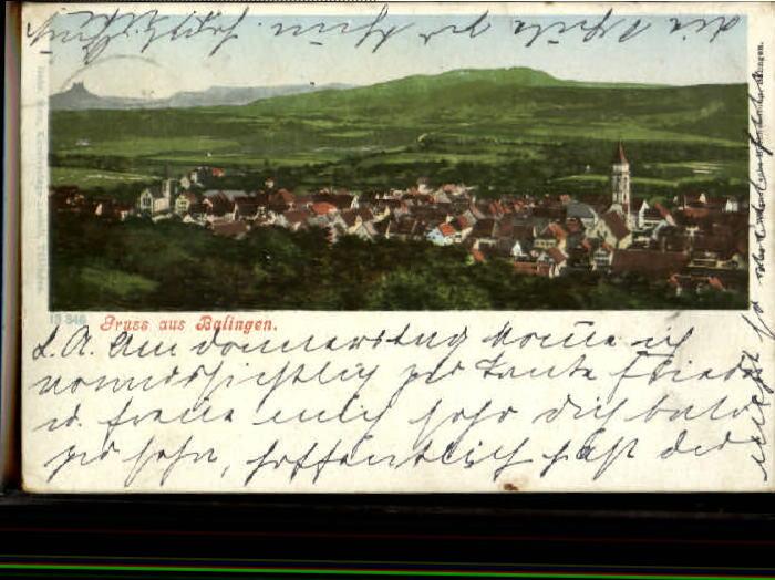 40187379 Balingen Balingen x 1905 Balingen - <span itemprop=availableAtOrFrom>79576, Deutschland</span> - Rücknahmen akzeptiert - 79576, Deutschland