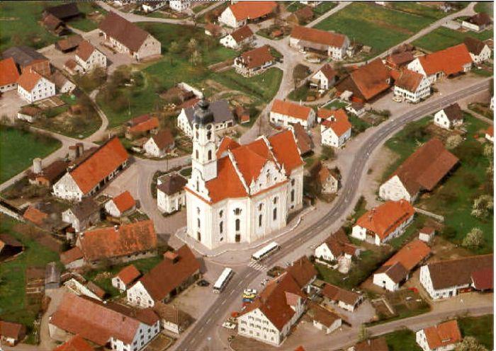 Wallfahrtskirche St. Peter und Paul in Steinhausen
