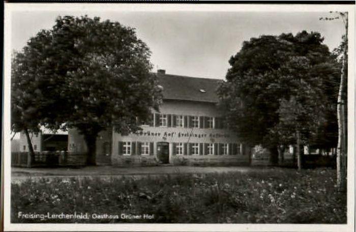 wd65440 Freising Lerchenfeld Gasthaus Gruener Hof Postkarten ...