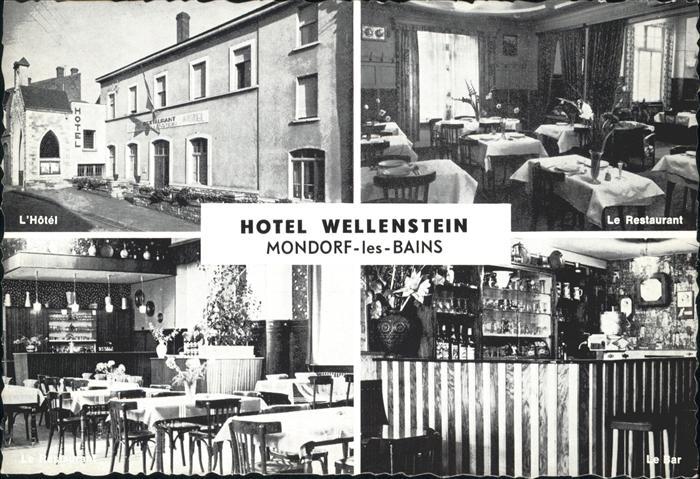 wf75119 mondorf les bains hotel wellenstein postkarten ansichtskarten postcards cpa ak shop. Black Bedroom Furniture Sets. Home Design Ideas