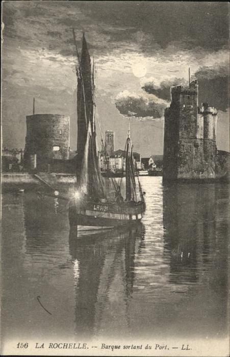 11091824 La Rochelle Charente-Maritime Barque sortant du Port La Rochelle - 79639, Deutschland - Rücknahmen akzeptiert - 79639, Deutschland