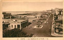 13265164 Dieppe_Seine-Maritime Vue générale de la Plage Dieppe Seine-Maritime