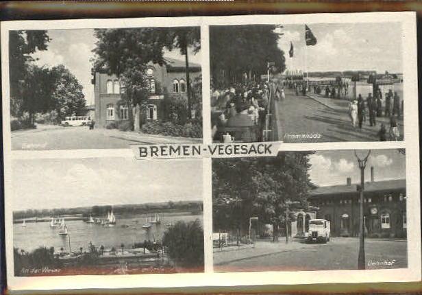 wq59002 bremen vegesack bahnhof promenade o 1942 postkarten ansichtskarten postcards cpa ak shop. Black Bedroom Furniture Sets. Home Design Ideas