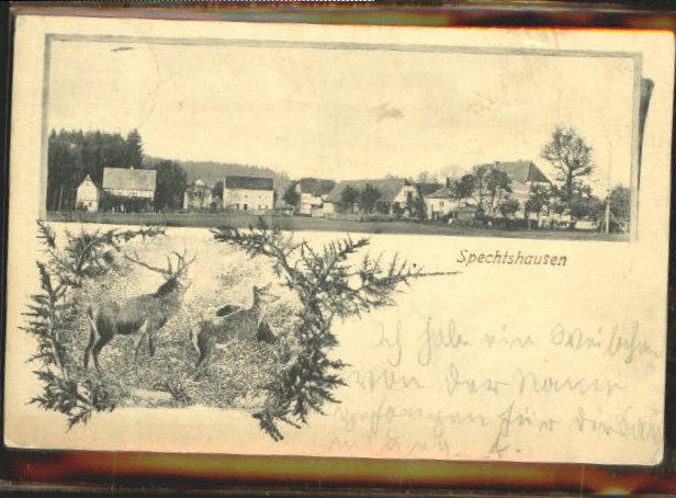 40473891 Spechtshausen Spechtshausen x 1909 Tharandt - Deutschland - Rücknahmen akzeptiert - Deutschland