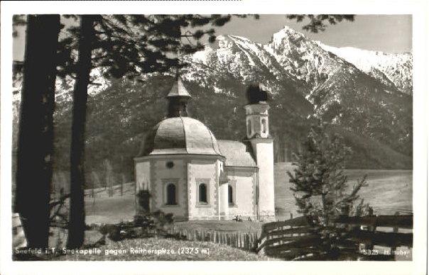 10597472 Seefeld Tirol Seefeld Tirol Kapelle Seefeld in Tirol - Deutschland - Rücknahmen akzeptiert - Deutschland