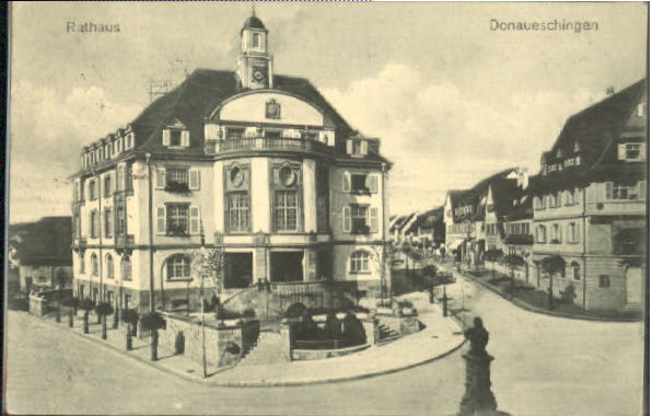 ww45386 donaueschingen rathaus feldpost x 1917 postkarten ansichtskarten postcards cpa ak shop. Black Bedroom Furniture Sets. Home Design Ideas