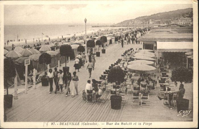 10818529 Deauville Deauville Calvados Bar Soleil Plage * Deauville - 79639, Deutschland - Rücknahmen akzeptiert - 79639, Deutschland