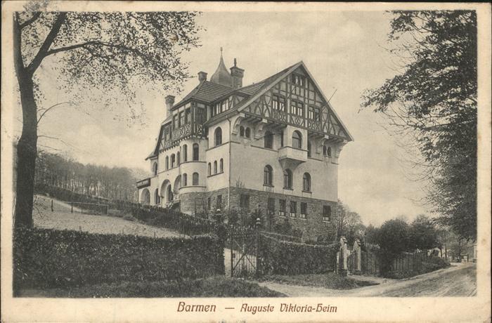 wx66530 Barmen Wuppertal Auguste Viktoria Heim Kat. Wuppertal