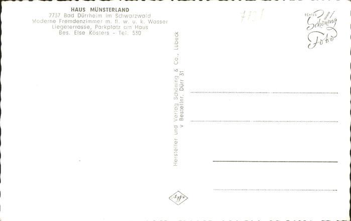 41200680 bad duerrheim haus muensterland bad duerrheim ebay. Black Bedroom Furniture Sets. Home Design Ideas